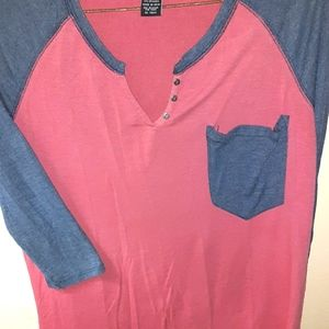 BUNDLE ONLY! rue21 Pocket Henley Size Small